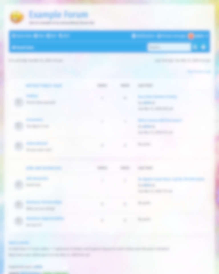 transparent free phpbb style